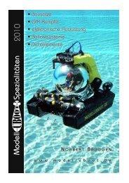 Lage- und Tiefenregler - Modell-Uboot-Spezialitäten