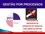 Prevenção de acidentes de trabalho com lâmina de ... - Unicamp