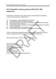 Kutane Lymphome - Arbeitsgemeinschaft Dermatologische Onkologie