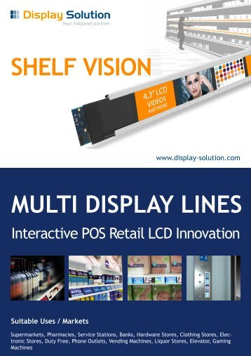 Interactive POS Retail LCD Innovation - TFT LCD Industrie Display ...