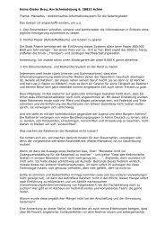 Mandatos - elektronisches Informationssystem für die Ratsmitglieder ...