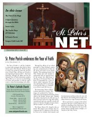 Winter 2012.pdf - Saint Peter's Catholic Church
