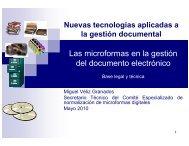 Las microformas en la gestión del documento electrónico - Ongei