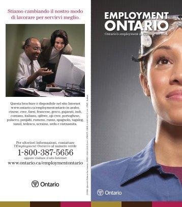 Employment Ontario: Ontario's employment and training ... - Ontario.ca