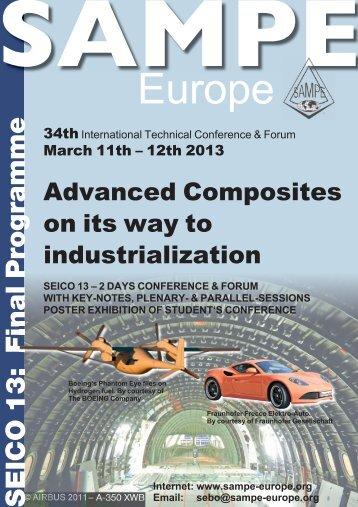 Final Programme 13_NEU.indd - SAMPE Europe