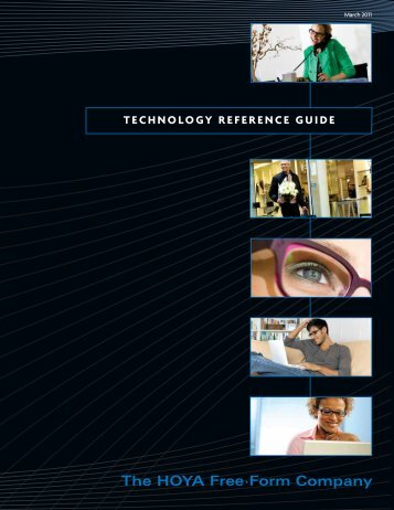 TECHNOLOGY REFERENCE GUIDE - Robertson Optical Laboratories