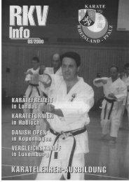 RKV-Info 3/2000 - BEIM RHEINLAND-PFÄLZISCHEN KARATE ...
