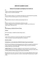 Classic Årsmøtereferat 2012 - BMW Klubben Norge
