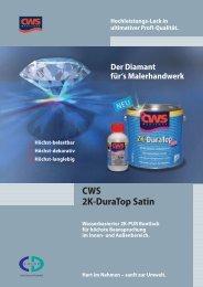 CWS 2K-DuraTop Satin - CD-Color GmbH & Co.KG