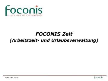 Mein Kalender - Foconis AG