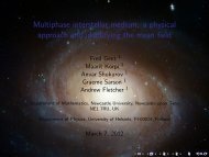 Multiphase interstellar medium: a physical approach and identify
