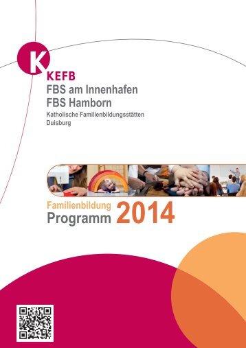 Programm 2014 Familienbildung - Katholische Erwachsenen- und ...