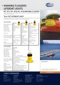 MARKING FLASHERS LIFEBOAT LIGHTS - Jotron - Page 2