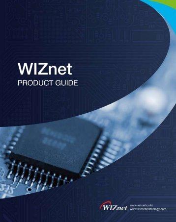 WIZnet Selector Guide - SemiconductorStore.com