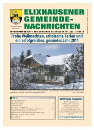 Dezember -233 - Gemeinde Elixhausen