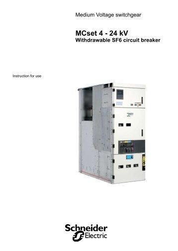 MCset 4 - 24 kV - Schneider Electric