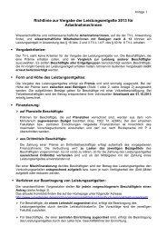 Richtlinie zur Vergabe der Leistungsentgelte 2013 für Arbeitnehmer ...
