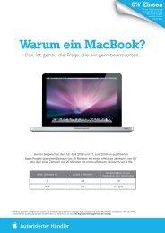 Warum ein Macbook? - Competence