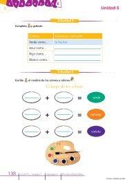 3 Unidad 6 Lección El juego de los colores. - Académie en ligne