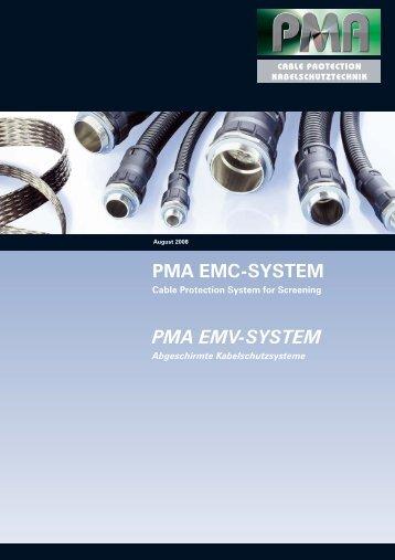 PMA EMC-SYSTEM PMA EMV-SYSTEM - Palissy Galvani