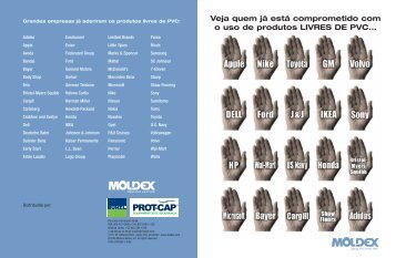 Brochura do Distribuidor Sem PVC - Moldex