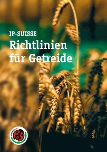 Richtlinien Getreide