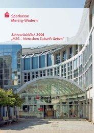 Jahresrückblick 2006 - Sparkasse Merzig-Wadern