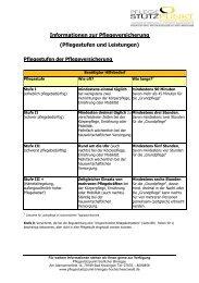Tabelle Leistungen Pflegeversicherung 2012.pdf - Pflegestützpunkt ...