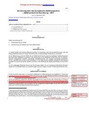 Abfallverzeichnis AVV - westoil