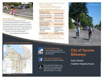 City of Tacoma Bikeways
