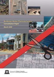 Building a Better Planning System - Western Australian Planning ...
