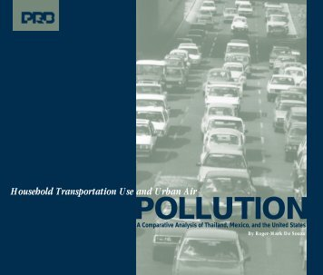 POLLUTION - Population Reference Bureau