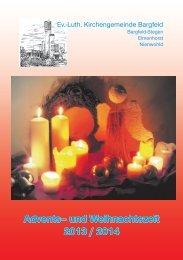 Advents– und Weihnachtszeit 2013 / 2014 - Kirche Bargfeld