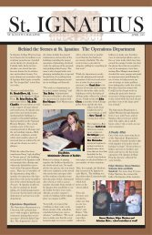 Ignatius Magazine - 2005 April - St. Ignatius College Prep