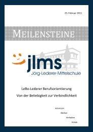 Meilensteine BO JLMS - sprungbrett Bayern