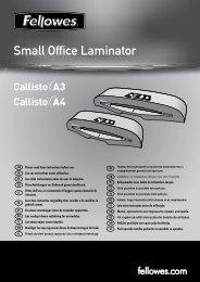 Small Office Laminator - Fellowes