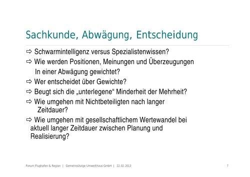Stakeholder-Dialog: - BDL