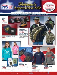 At Your PatriotStore Oct. 28 - Veterans Canteen Service