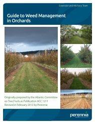 Guide to Weed Management in Orchards - Perennia