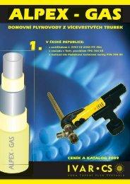 Katalog a ceník IVAR CS ALPEX-GAS