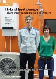 Hybrid heat pumps - savings energy and reducing carbon ... - rehva