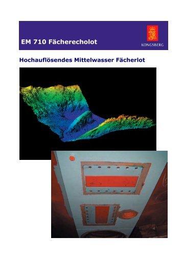 EM710 Produktinformation_deu - Kongsberg Maritime