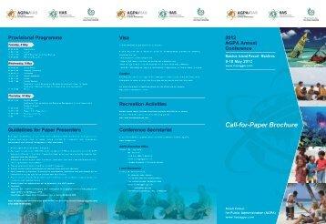 Call-for-Paper Brochure Visa