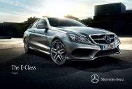 The E-Class - Mercedes Benz
