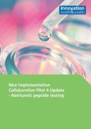 Nice Implementation Collaborative Pilot 4 Update - Natriuretic ...
