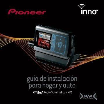 guía de instalación para hogar y auto - Pioneer Electronics