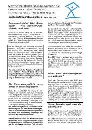 zum Ratgeber (pdf) - Mieterverein Dortmund und Umgebung eV