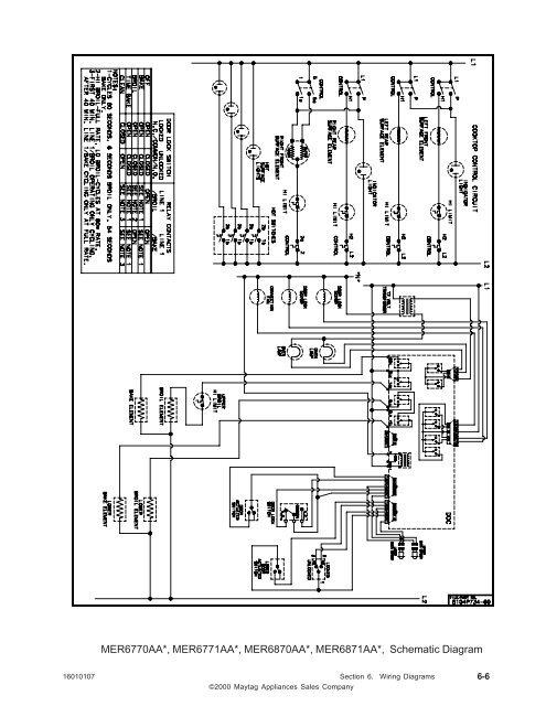 maytag diagrams mer6770aa   mer6771aa   m  mer6770aa   mer6771aa   m