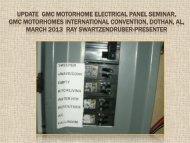 UPDATE GMC MOTORHOME ELECTRICAL PANEL ... - Bdub.net