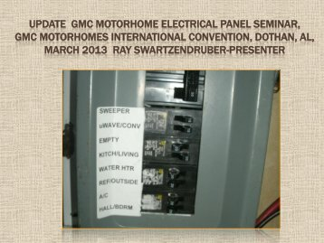 Super sized gmc motorhome wiring diagrams we have bdub update gmc motorhome electrical panel bdub asfbconference2016 Images